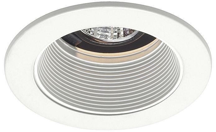 juno 4 low voltage white baffle recessed light trim