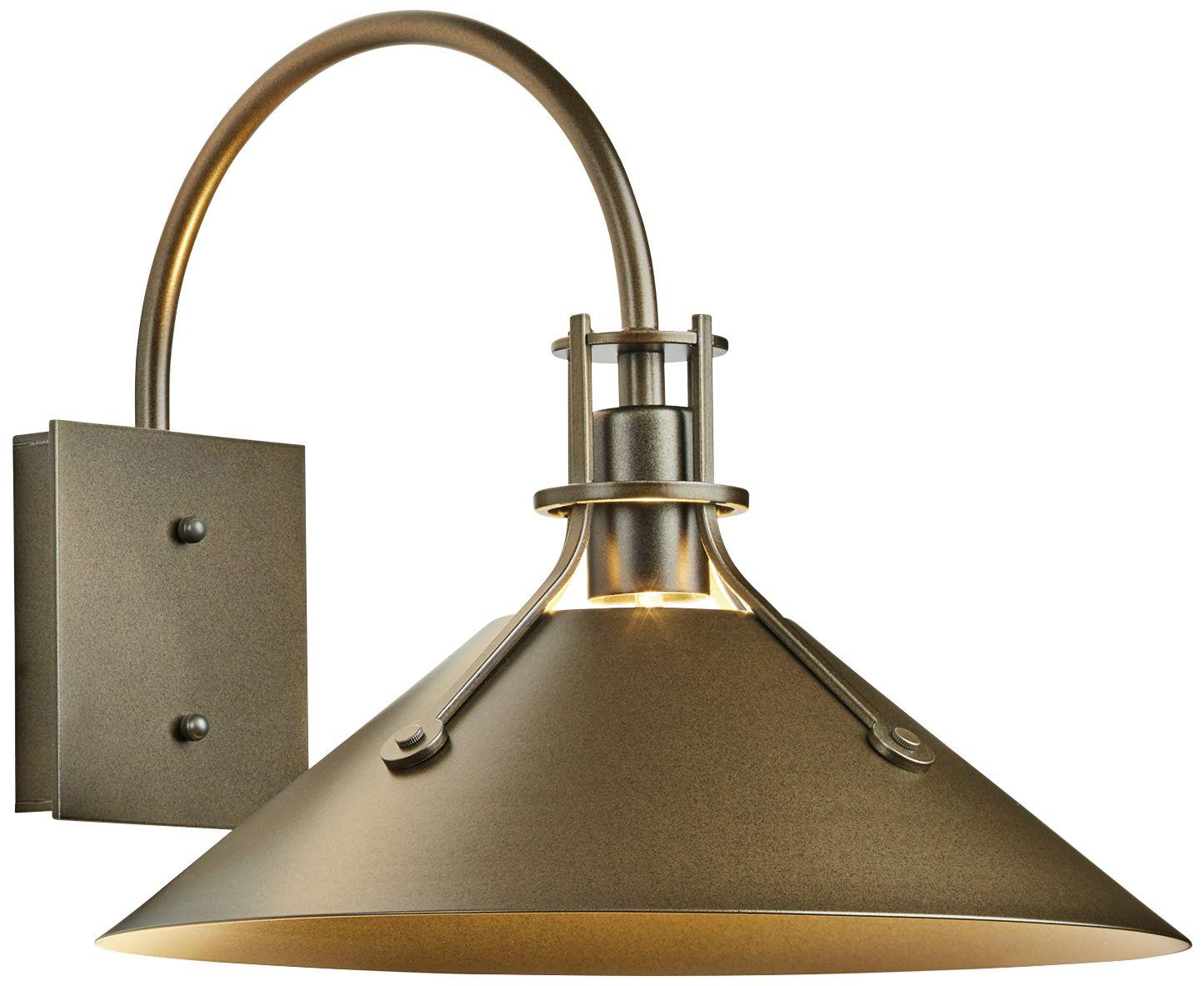 henry 12 3 4 high coastal bronze medium outdoor wall light