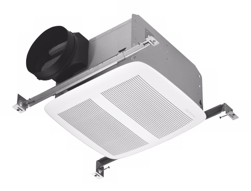 nutone white energy star 6 ducting bathroom exhaust fan