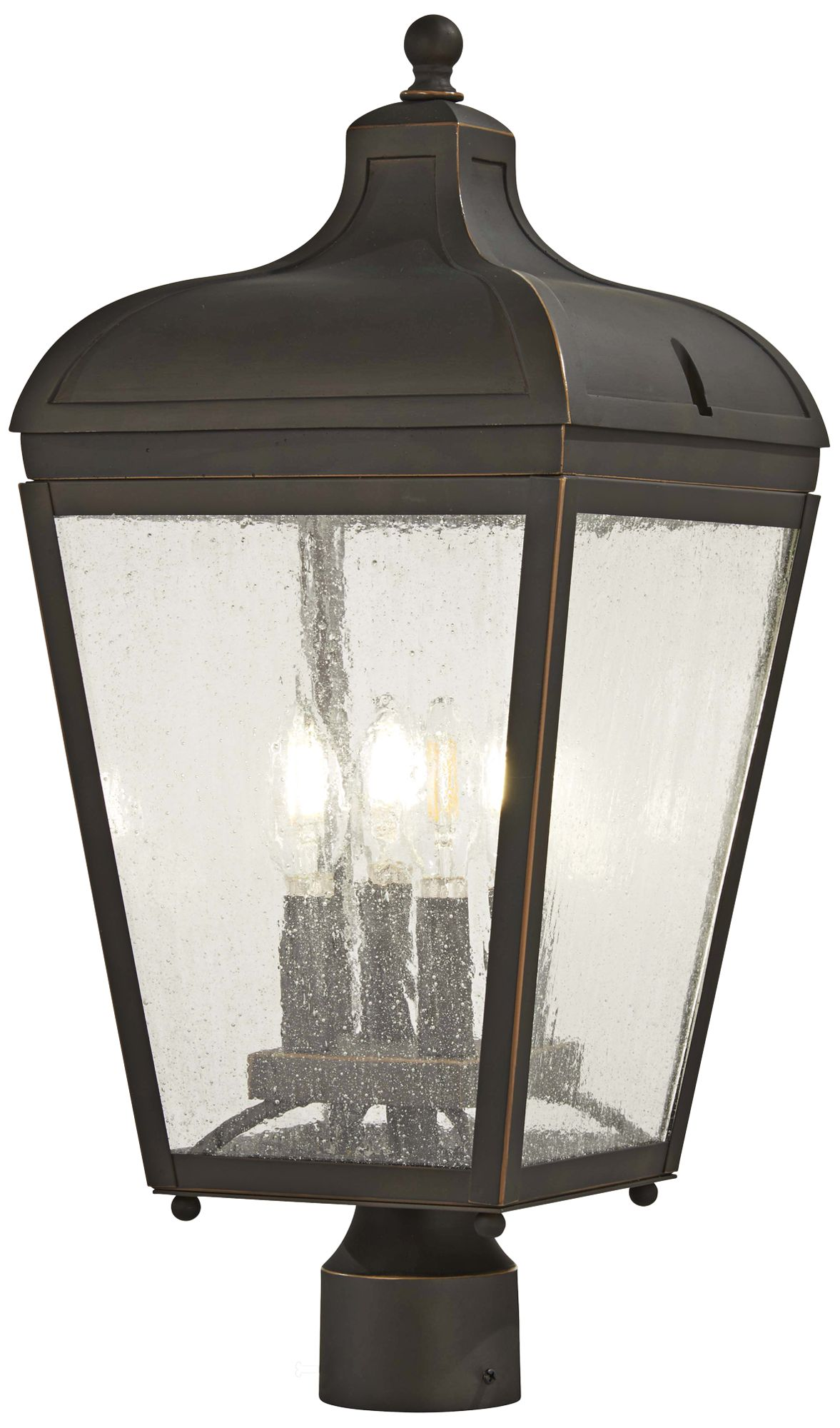 marquee 22 high oil rubbed bronze outdoor post light