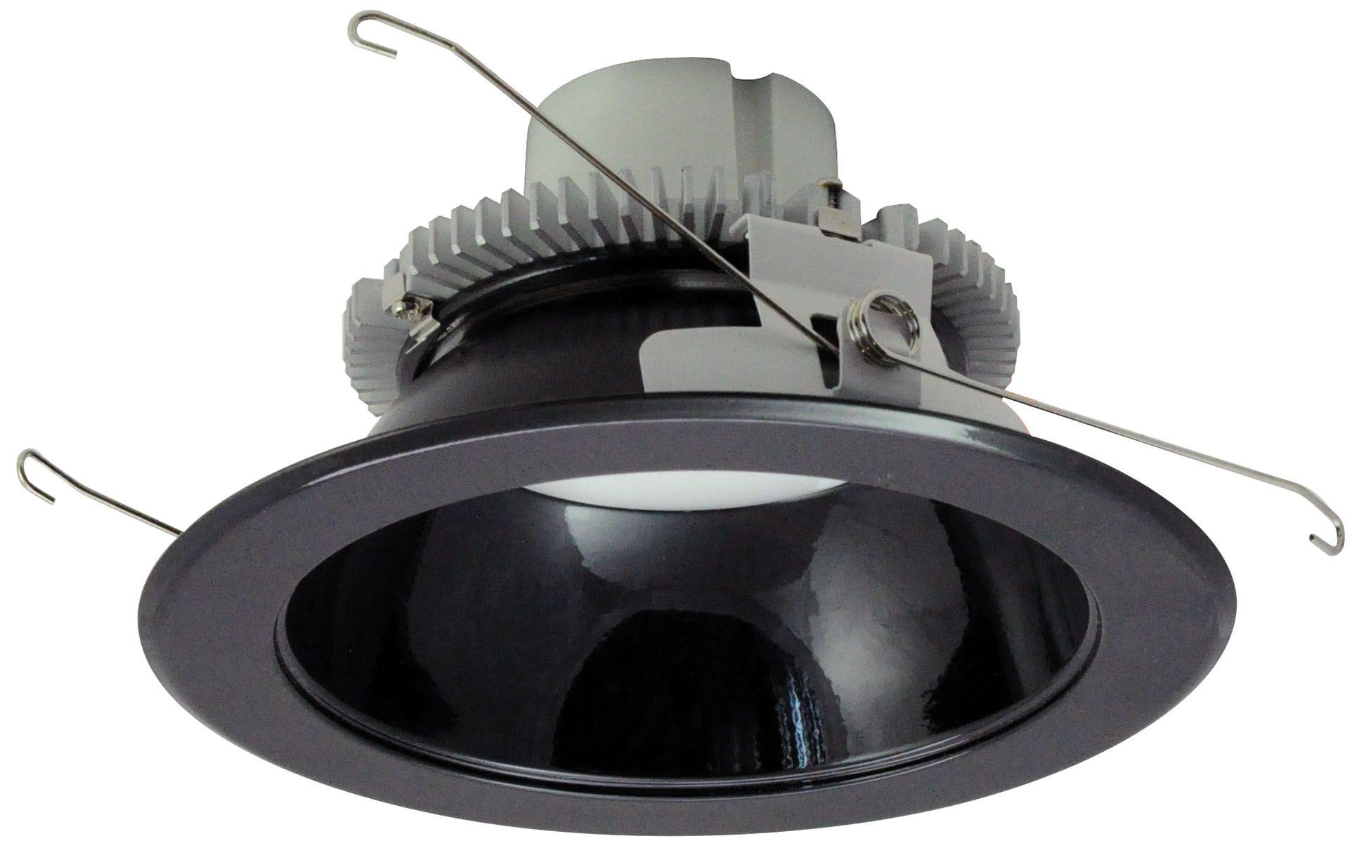 nora 6 black led reflector recessed retrofit downlight