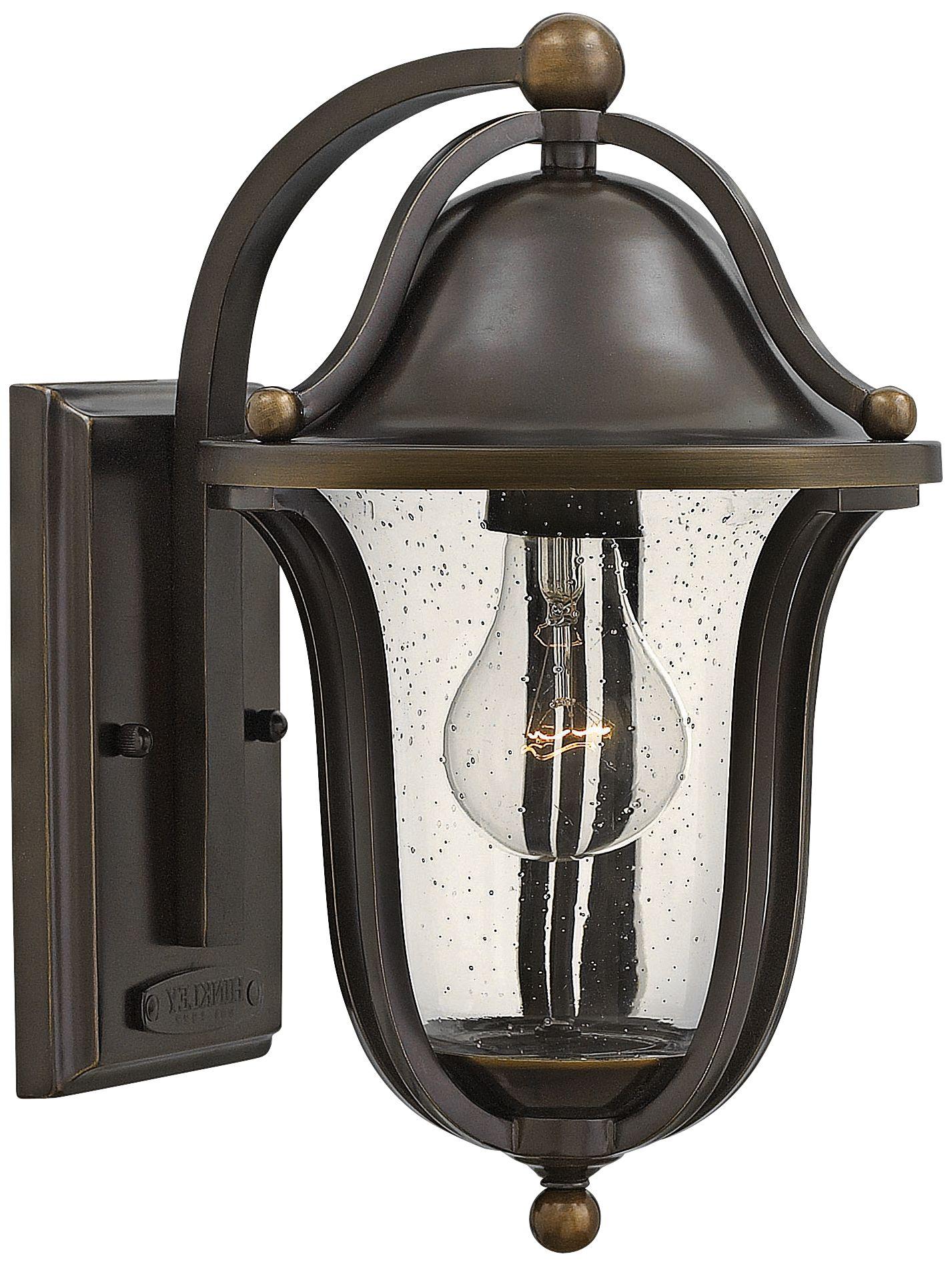 hinkley bolla 7 1 4 wide olde bronze outdoor wall light