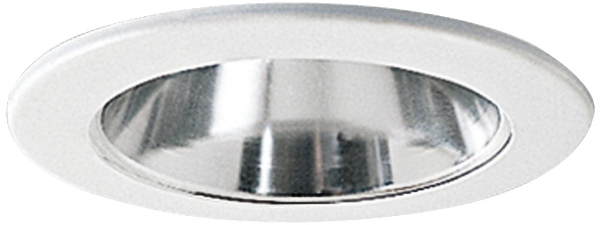 nora 4 wide chrome and white adjustable recessed light trim