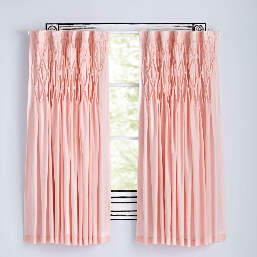 Modern Chic Pink Curtains The Land Of Nod