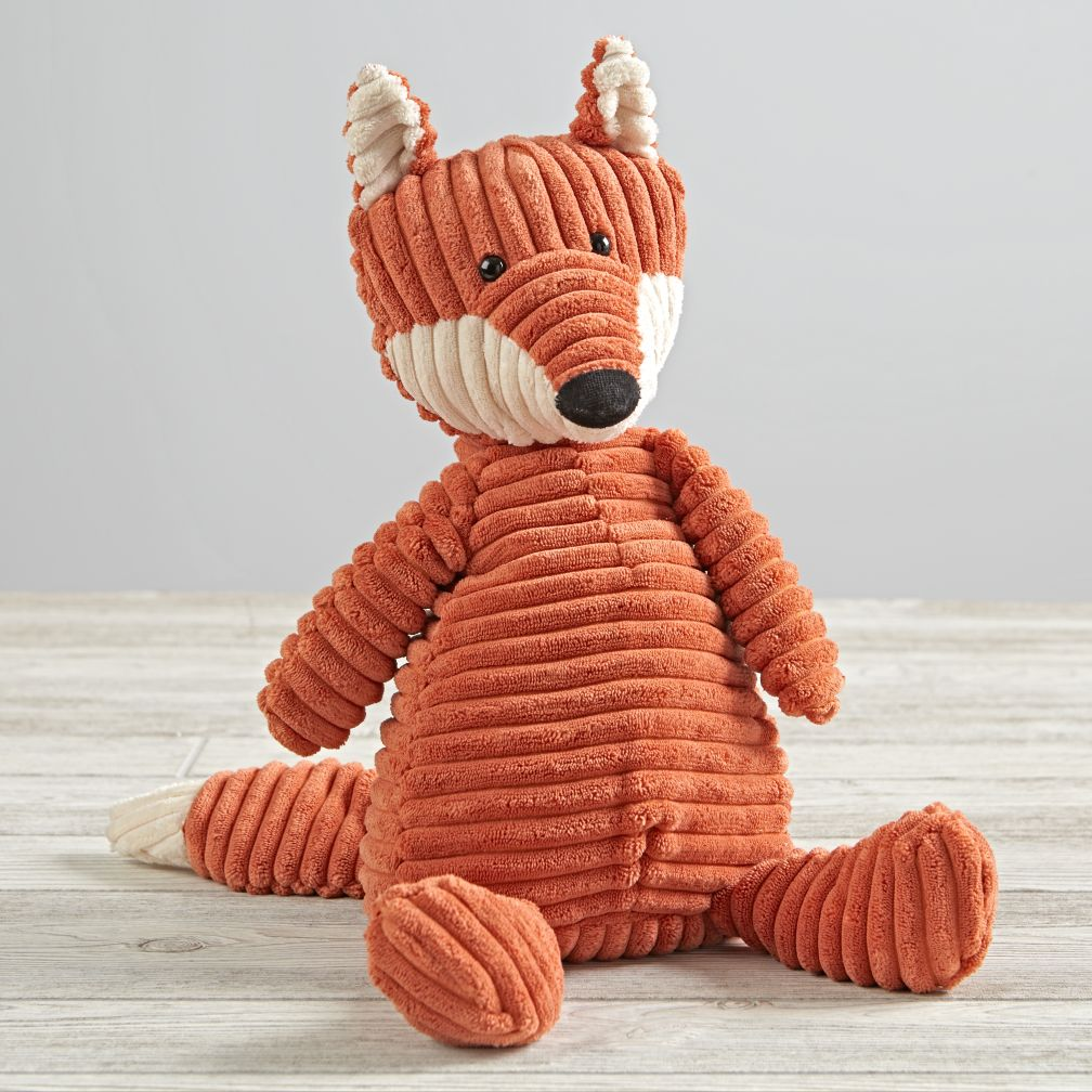 Jellycat Corduroy Fox Stuffed Animal The Land Of Nod