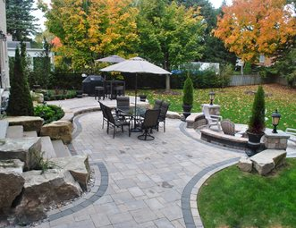 paver patio pictures gallery