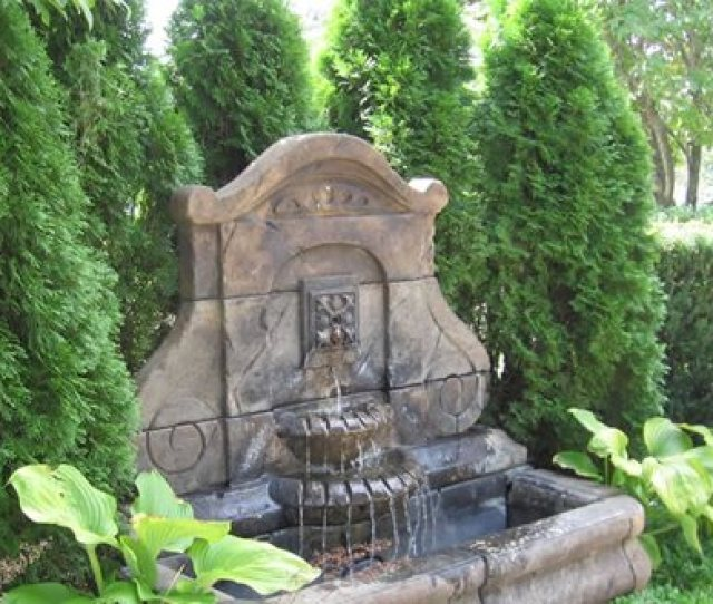 Large Wall Fountain
