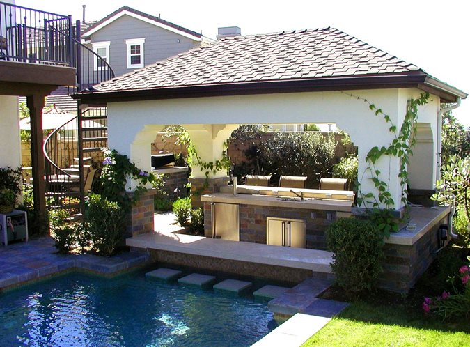 Garden Structure Definitions Pergola Or Patio Cover
