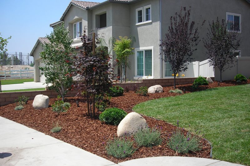 Landscaping Front Maintenance Free Yard