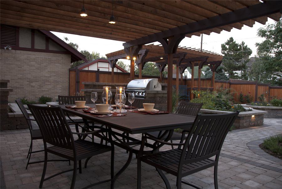 outdoor dining room ideas landscaping