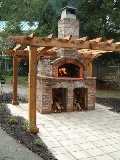 outdoor pizza oven landscaping network