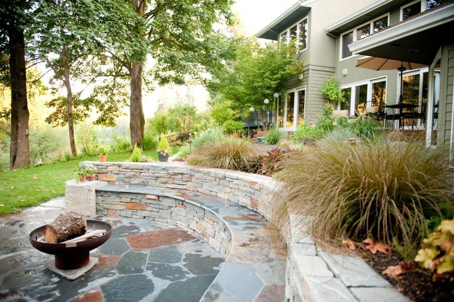 retaining seatwalls landscaping network