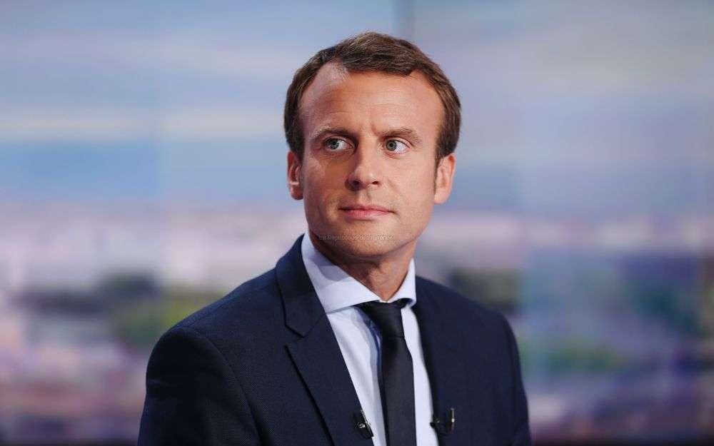 E. Macron.