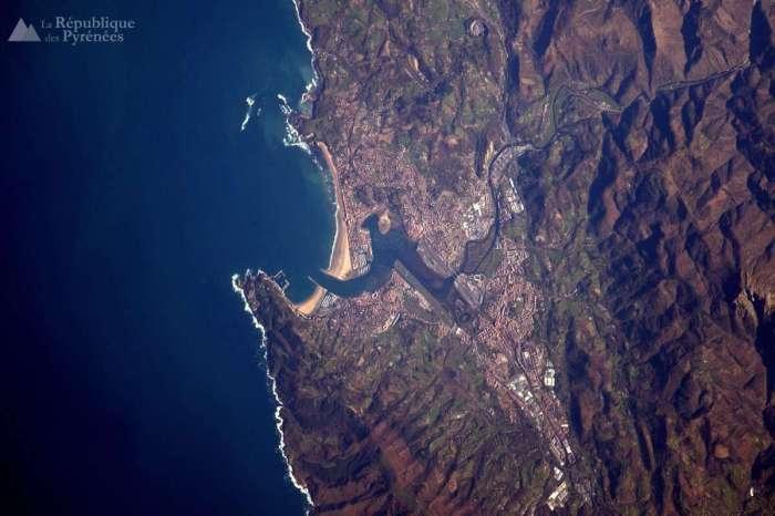 Le Sud-Ouest vu depuis l'espace : merci Thomas Pesquet !