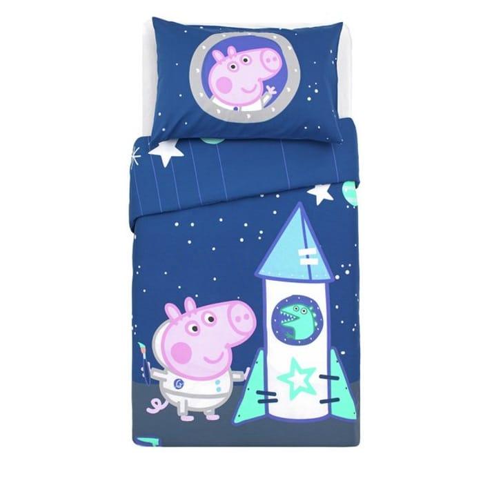 Peppa Pig George Pig Children S Bedding Set Toddler 7 50 At Argos Latestdeals Co Uk