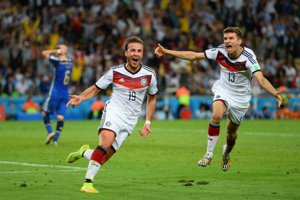 Mario Goetze Scores Game-Winning Goal in 2014 FIFA World Cup