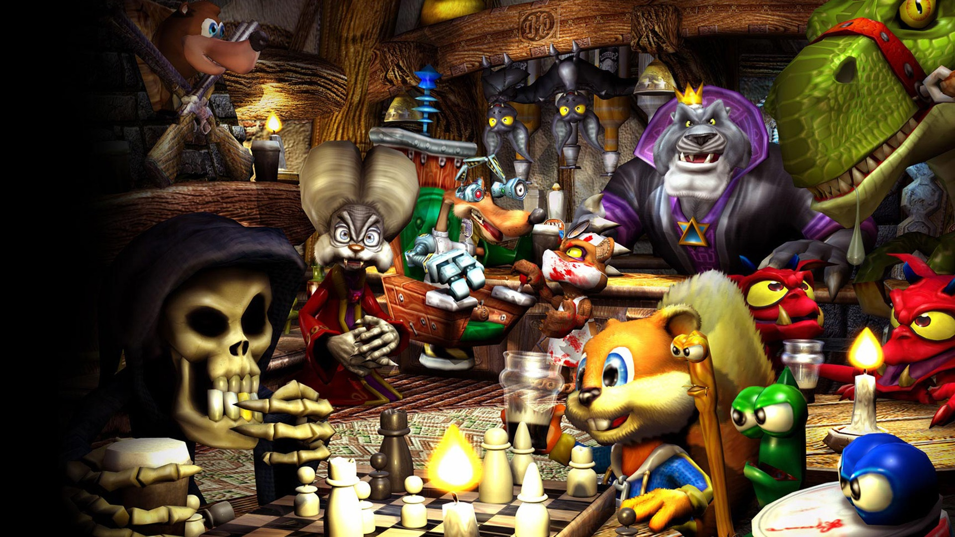 Conkers Bad Fur Day Details LaunchBox Games Database