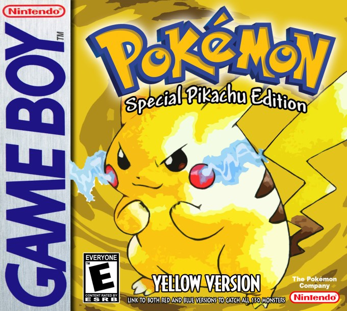 Image result for Pokemon Yellow