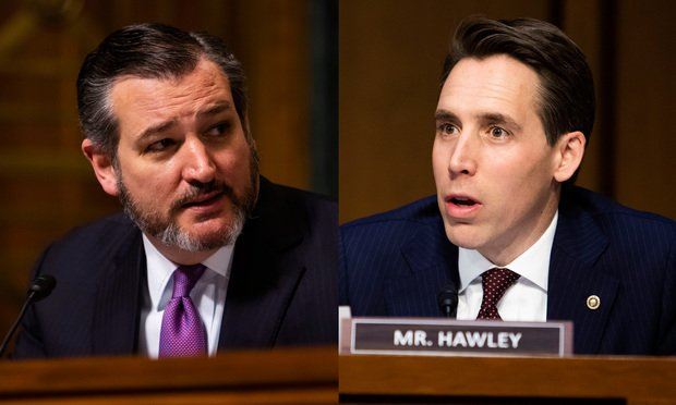 Will Big Law Take Cruz and Hawley? | The American Lawyer
