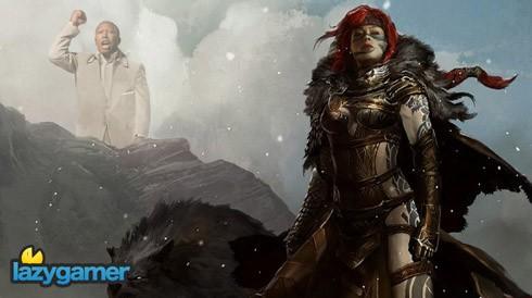 Guild Wars 2 combat footage 2