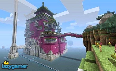 Minecraft comes alive - 'Ghibli World' 2