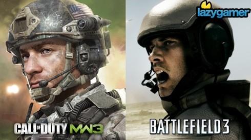 Modern Warfare 3 vs Battlefield 3