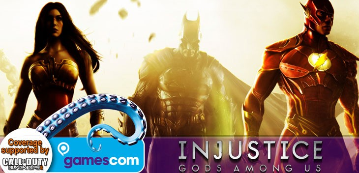 I got to fiddle with Injustice: Gods Among Us 2