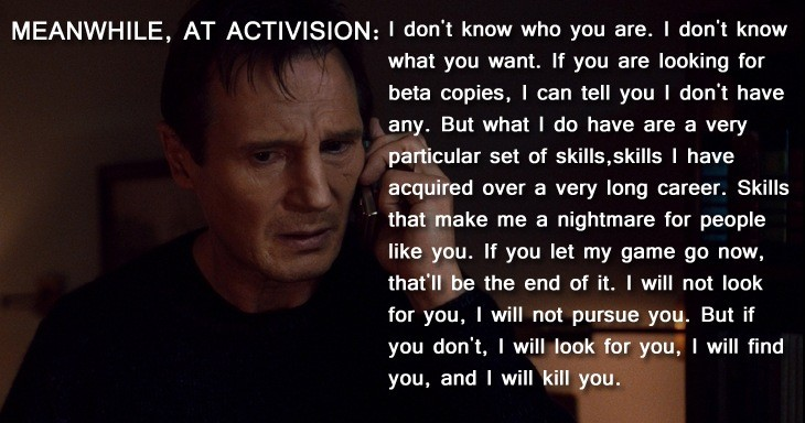 Taken 3 is going to be awesome...