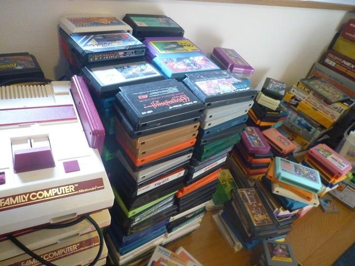 Famicom Carts