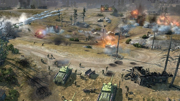 Company of Heroes 2 Approaching Battle
