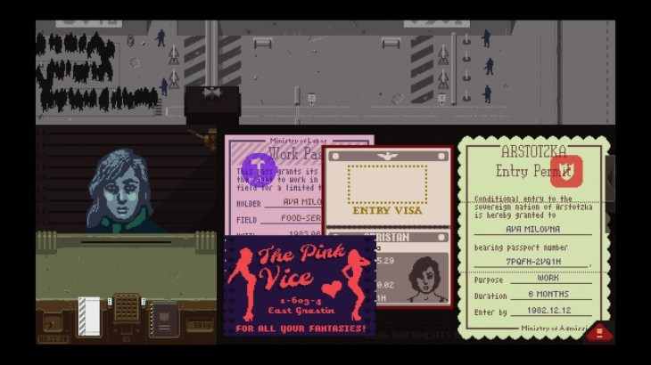 Papers, Please Review: Glory to Arstotzka! 6