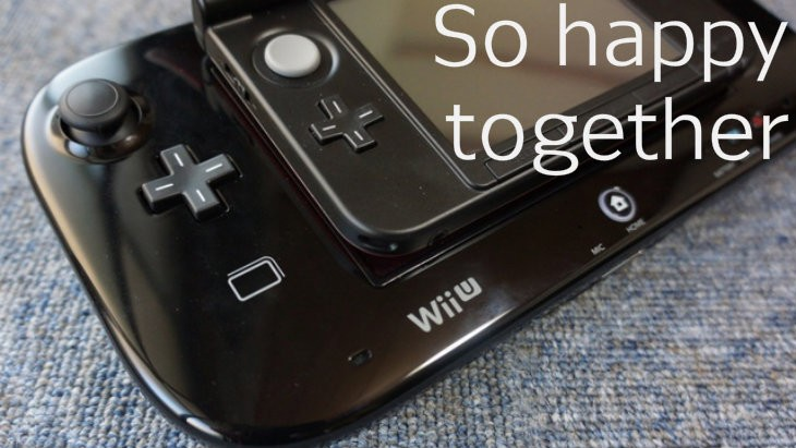 Wii u with 3ds