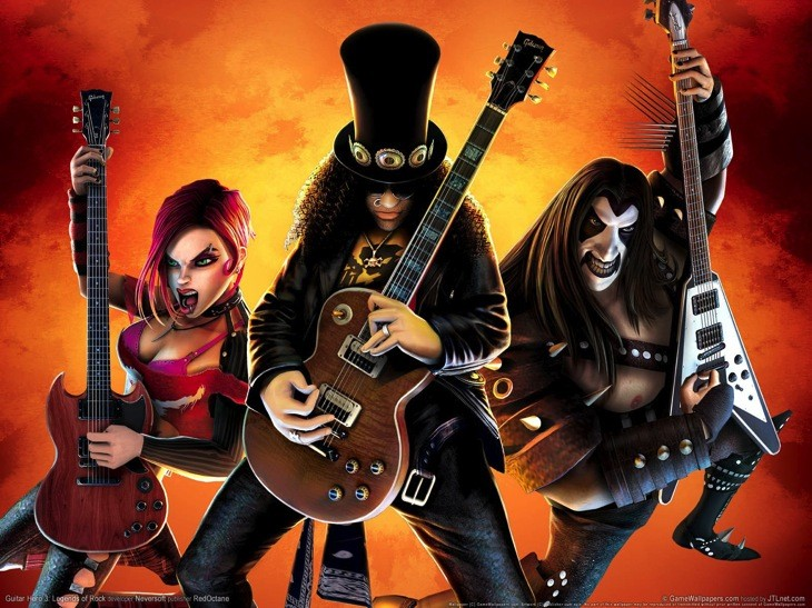 Guitar Hero 3 Legend Rock 1593