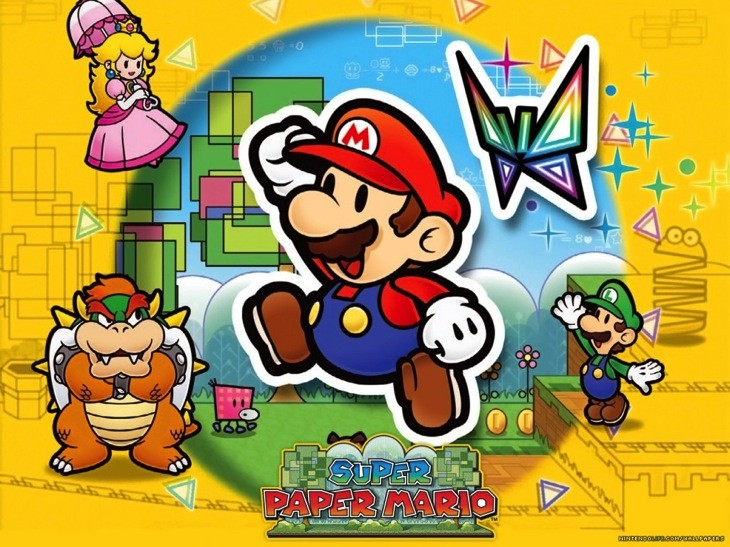 Super paper mario wallpaper 2 normal