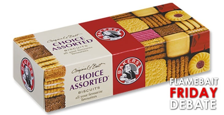 No matter which biscuit you take, you'll still get fat.