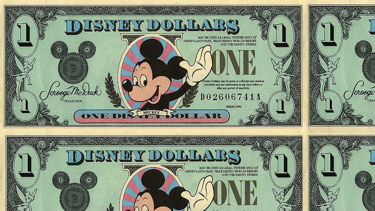 Disney millions