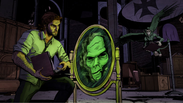 Bigby magic mirror