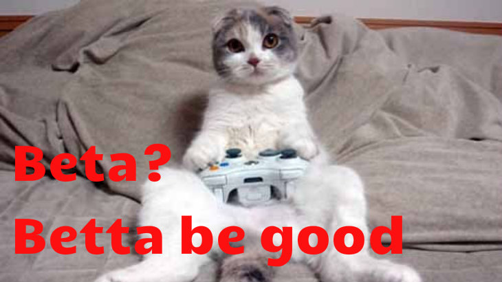 Cat beta tester