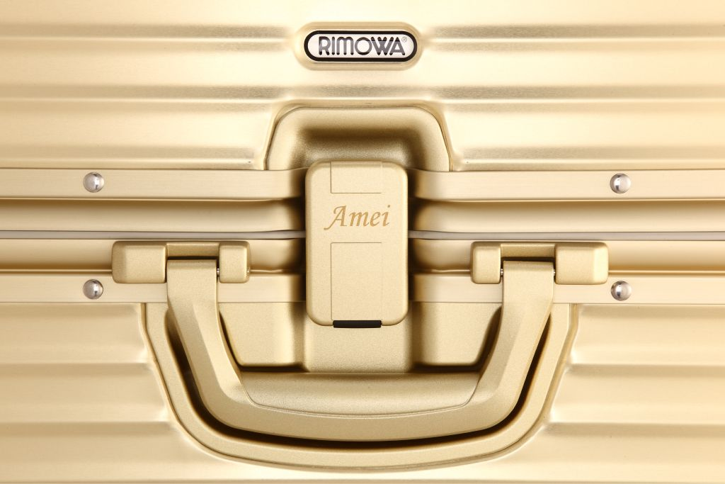 *RIMOWA for AMeiZING :張惠妹Toaps Gold 版本! 4