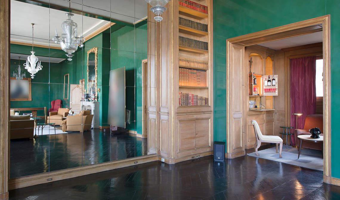 Penthouse with terrace for sale over Seina, 7th arrondissement, Paris - 1