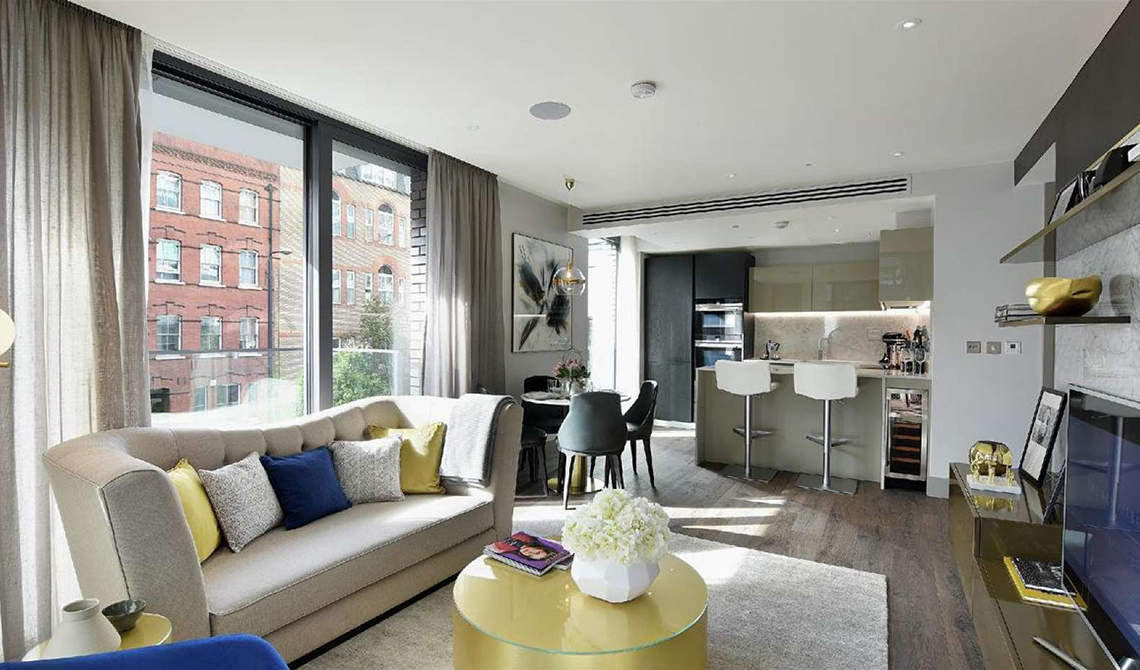 Apartments for sale in residential complex in Goodman's Fields, Whitechapel - 2