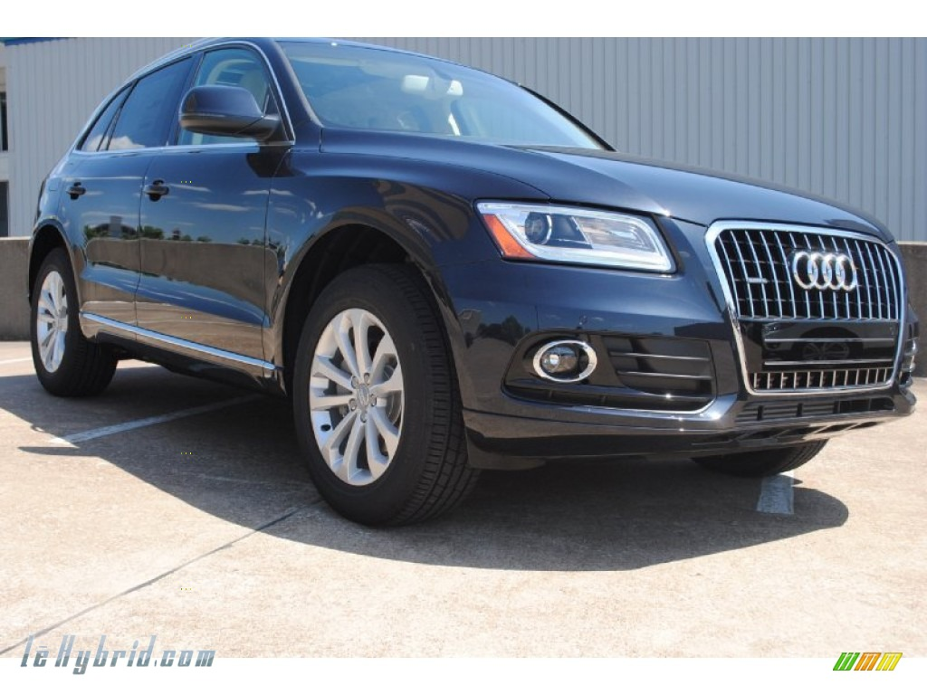 2013 Audi Q5 20 TFSI Quattro In Moonlight Blue Metallic
