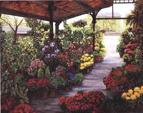 Paris Flower Market II by Montserrat Masdeu