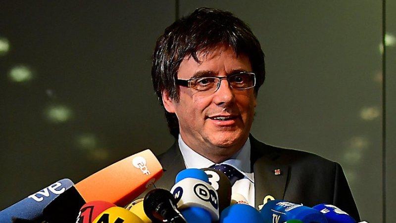 Le président déchu Carles Puigdemont bientôt tête de liste aux élections européennes? Photo AFP