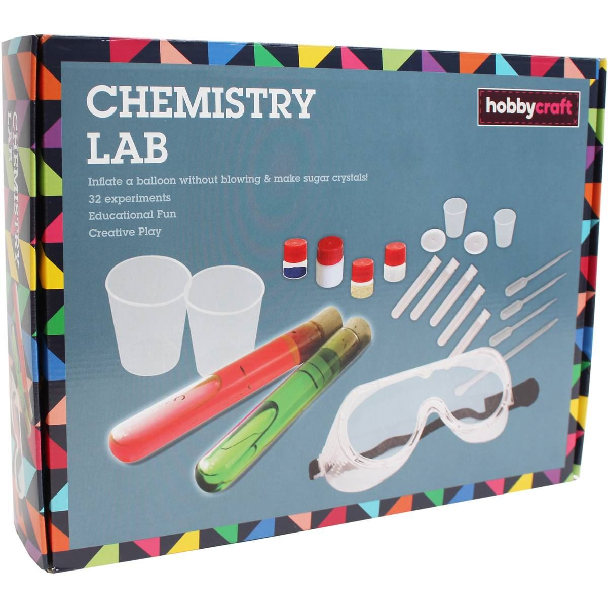 Hobbycraft Chemistry Lab Kit Educational Science Toy Childrens Activity 8 Years