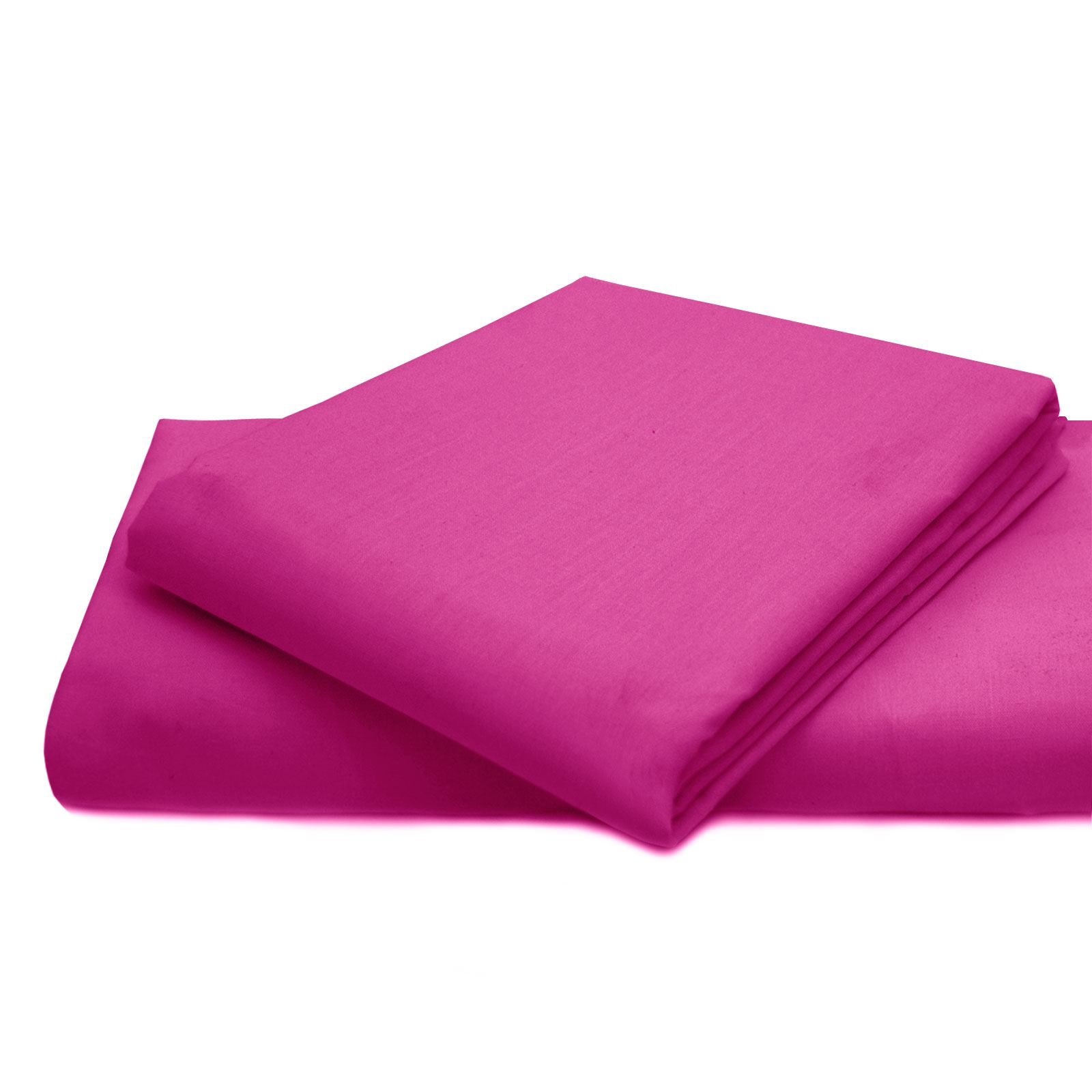 Plain Dyed Fitted Bed Sheet Duvet Cover Valance Poly