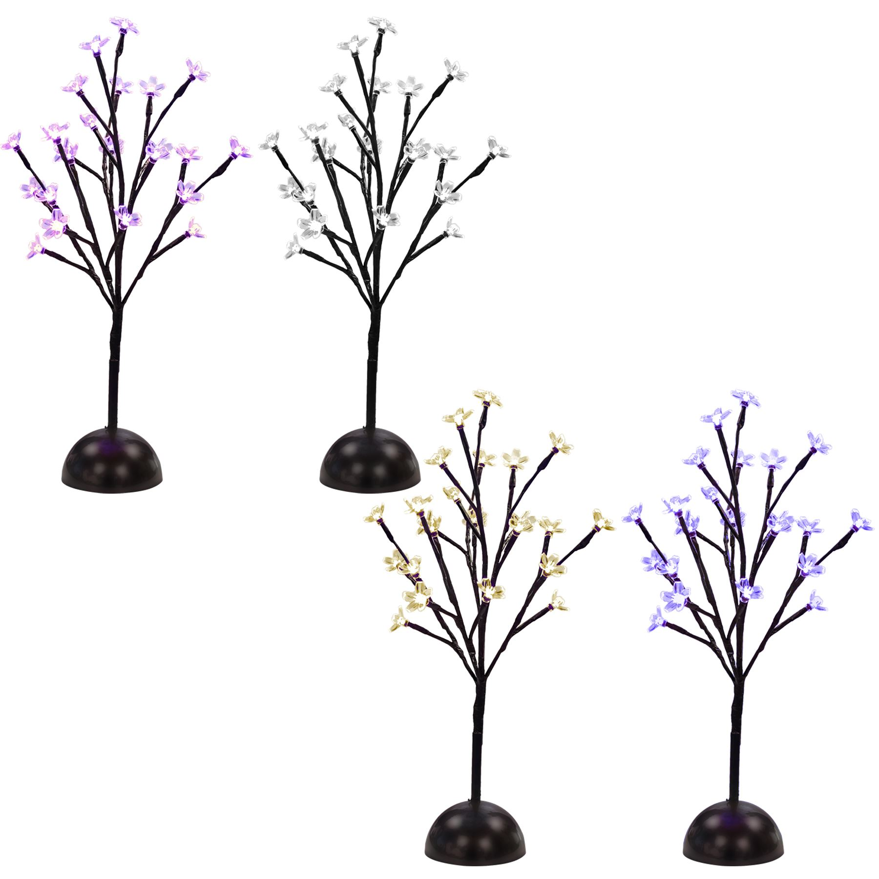 Led Branch Light Blossom Tree Flower Twig Decorative Table