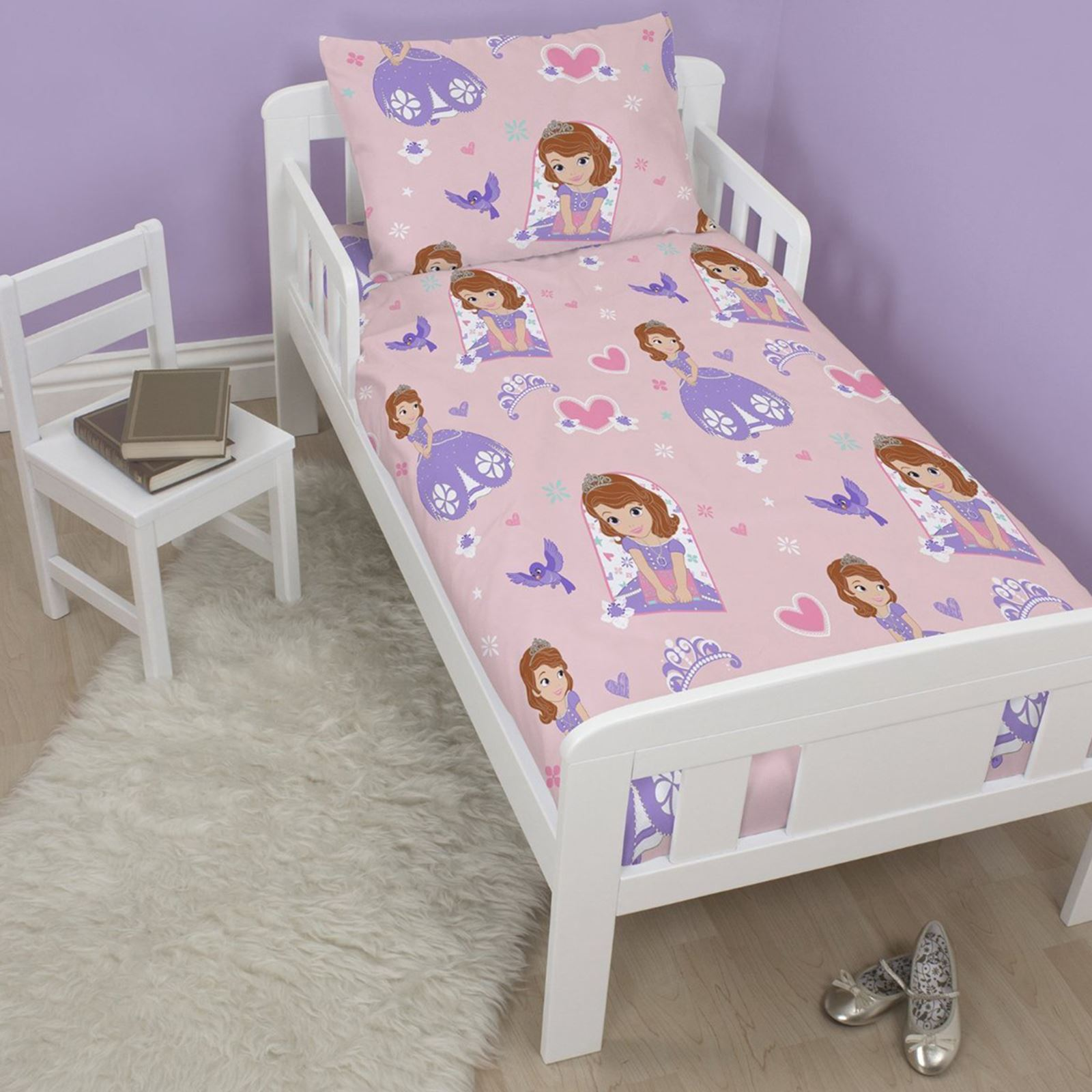 Sofia The First Academy 4 In 1 Junior Rotary Bedding Set