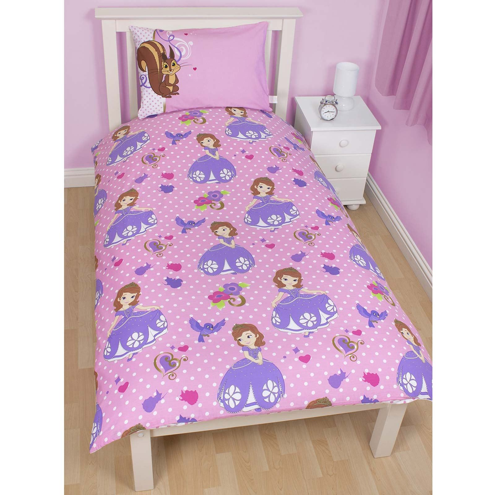 Disney Sofia The First Bedding And Bedroom Accessories
