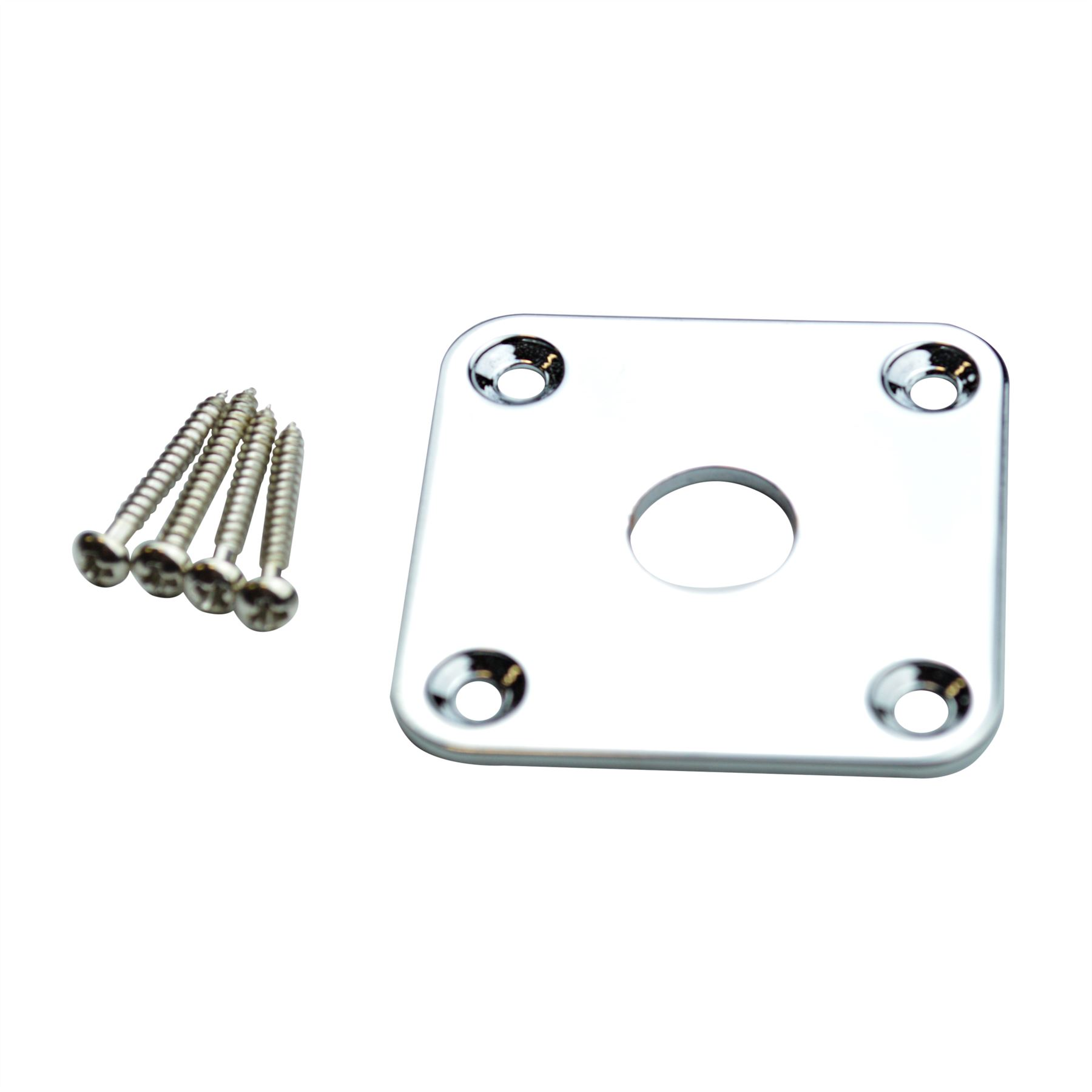 Metal Square Jack Plate For Epiphone Les Paul Electric